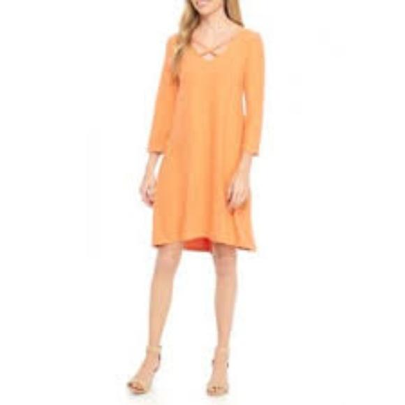 new directions Dresses & Skirts - NWT A-line Orange dress